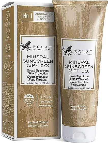 Protección Solar Mineral SPF 50 Eclat – Loción Solar Natural SPF ...