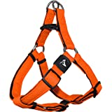 Kruz PET KZA201 Step In Mesh Dog Harness – No Pull, Easy Fit Adjustable Pet Harness – Comfortable, Lightweight Padded Harness