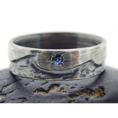Mixed metal ring Celtic jewelry for women Two tone ring Medieval ring