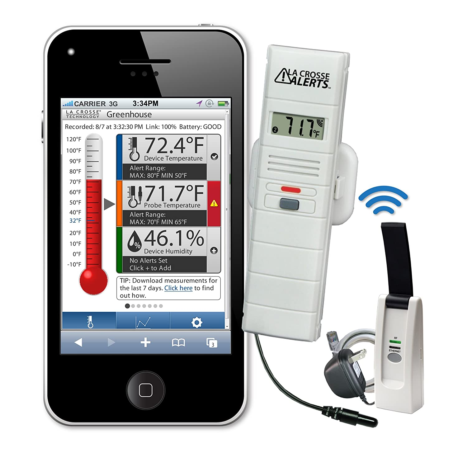Climate Monitoring System : The best home temperature monitors systems safety