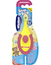 Wisdom Step By Step Super Soft Toothbrush For Children of 0-2 Year Old
