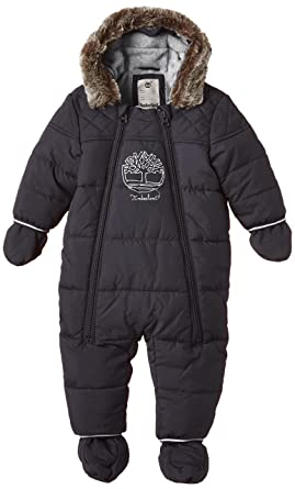 c421a070b Timberland Baby Boys 0-24m T96205 All in One Snowsuit, Dark Grey, 3-6  (Size:06 Months): Amazon.co.uk: Clothing