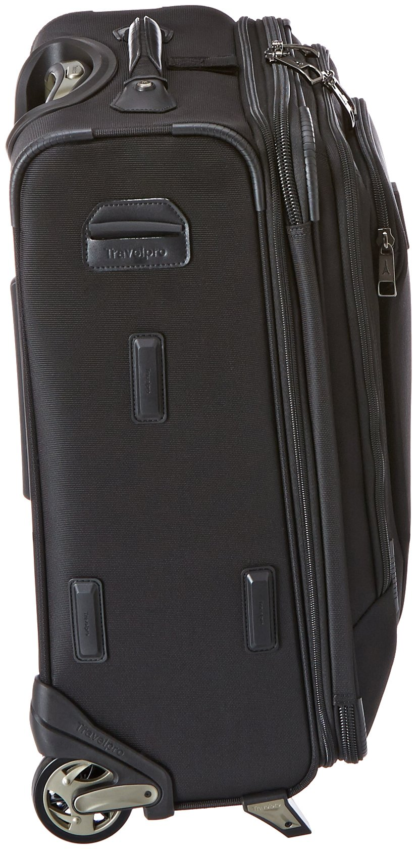 Travelpro Crew 10 20 '' Expandable Business Plus Rollaboard, Balck by Travelpro (Image #3)