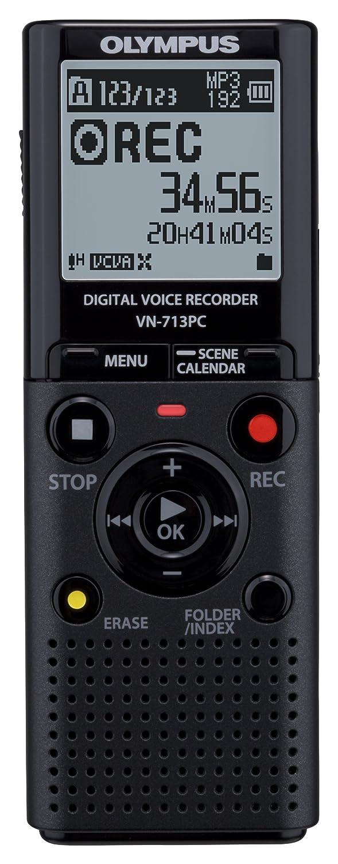 Olympus VN-713PC - Grabador de sonido digital portátil color negro ...