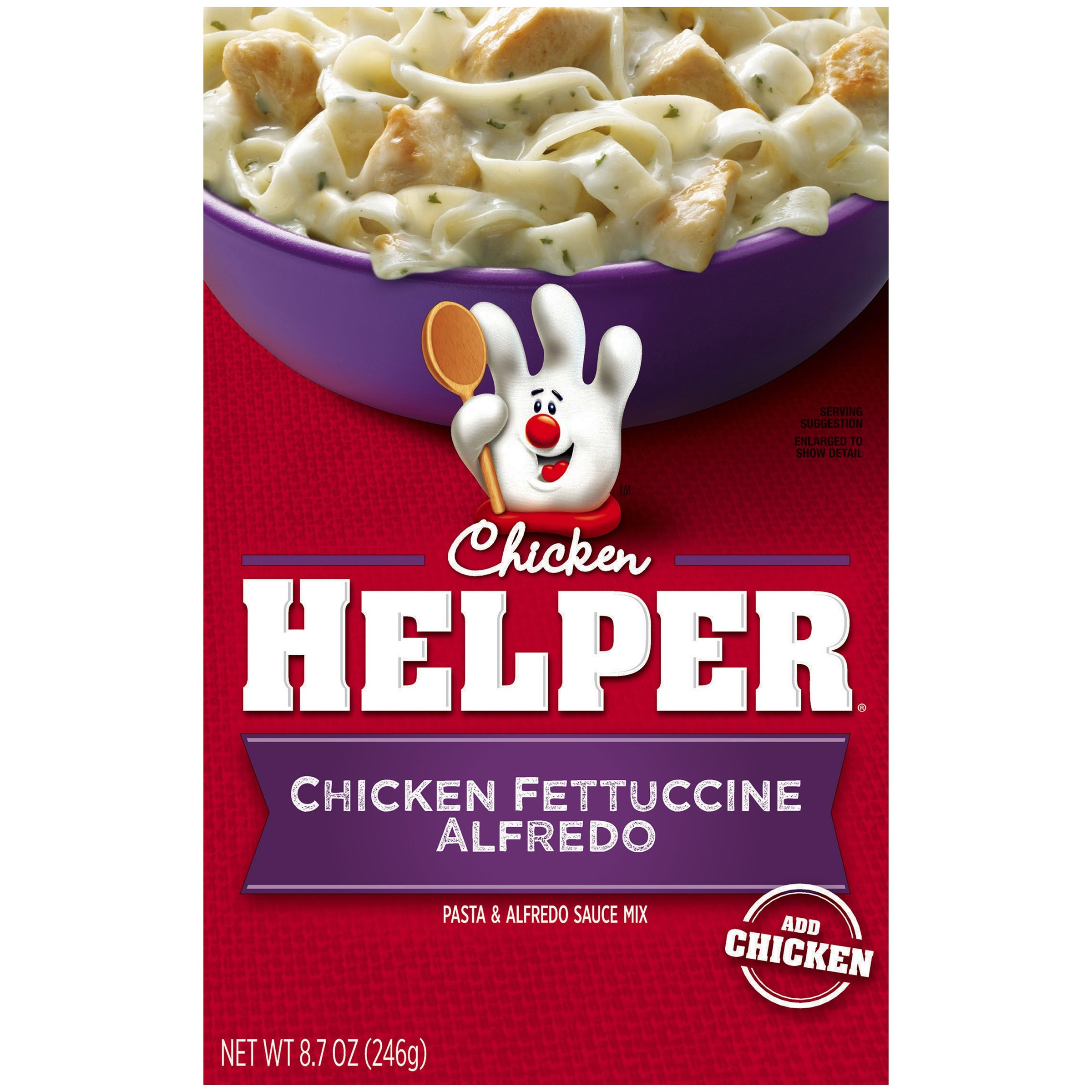 Betty Crocker Chicken Helper Fettuccine Alfredo 8.7 oz Box (pack of 12)