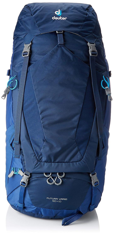 Deuter Futura Vario 50 + 10 Mochila, Unisex Adulto, Azul (Midnight/Steel), 24x36x45 cm (W x H x L): Amazon.es: Deportes y aire libre
