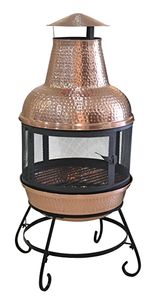 Exceptional Deeco Consumer Products Cape Copper Chiminea
