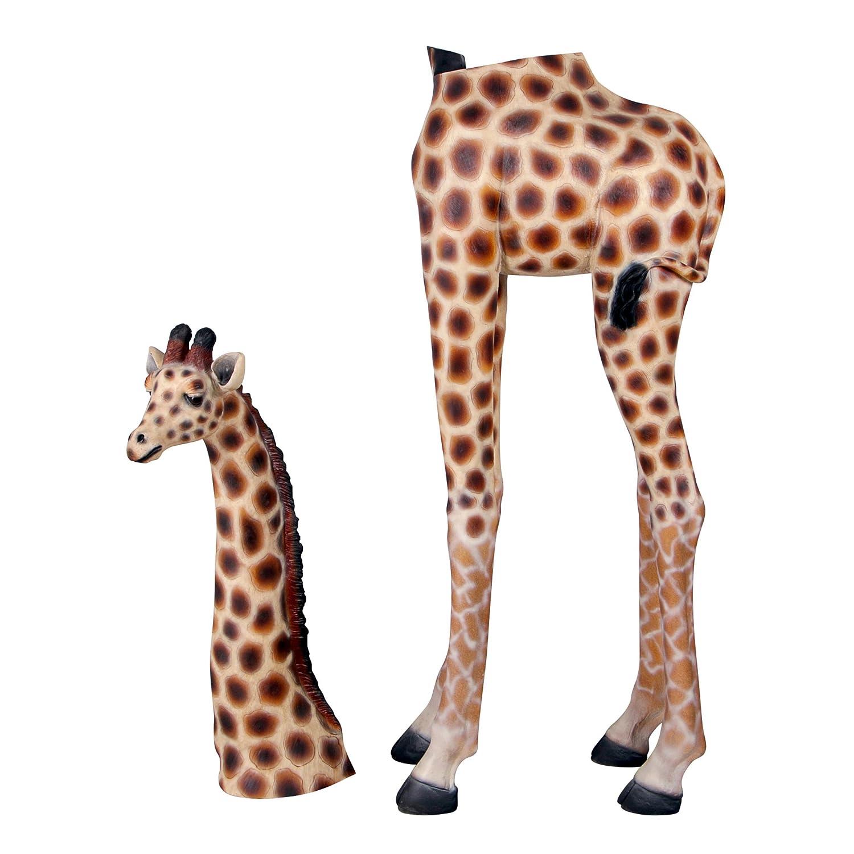 Amazon.com : Design Toscano Mombasa The Giraffe Garden Statue : Outdoor  Statues : Garden U0026 Outdoor