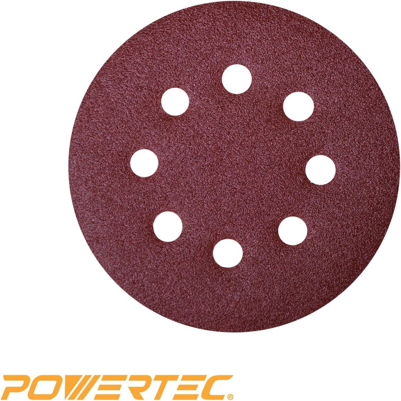 1000//800//600//400//320//240 Grit Sandpaper for 60Pcs Sanding Discs 5 Inch 8 Holes