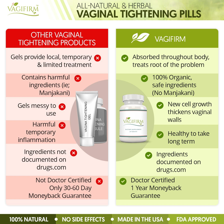 Amazon Com Vagifirm Vaginal Tightening Pills All Natural Herbal