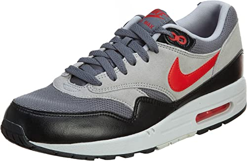 Nike Air Max 1 Essential Grise 537383 016 Basket Homme