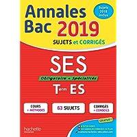 Annales Bac 2019 SES Terminale ES