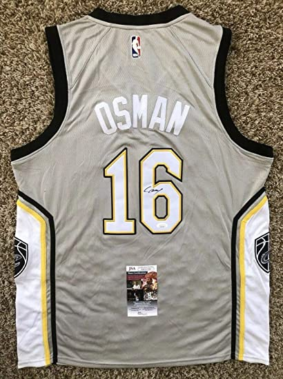 huge selection of 865ad 46f16 Cedi Osman Autographed Signed Memorabilia Cleveland ...