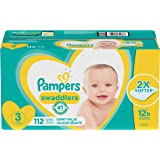 Pampers Swaddlers Disposable Baby Diapers, Giant Pack