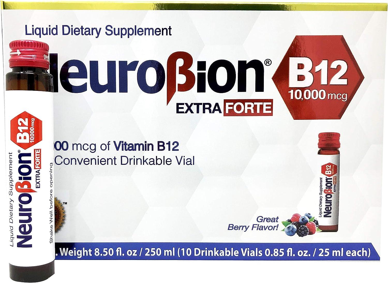 Neurobion Extra Forte B12 10,000 mcg Vials - Extreme Powerful B12-10 Vials per Box