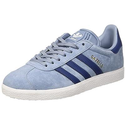 adidas Originals Women's Gazelle Trainers Tactile US5 Blue