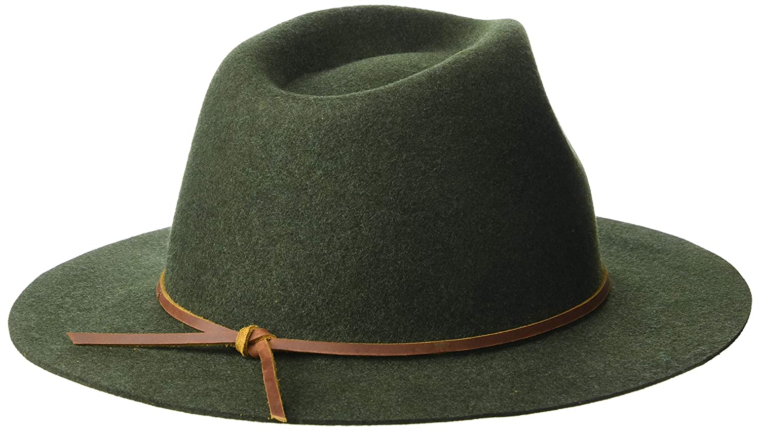 3bd69ff4 Amazon.com: Brixton Men's Wesley Fedora: Clothing