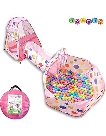 Tienda Campaña Infantil   Piscina de Bolas + Casita Infantil + Tunel  Infantil  Plegable Parque 41e04860d3131