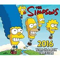 The Official the Simpsons 2016 Desk Block Calendar