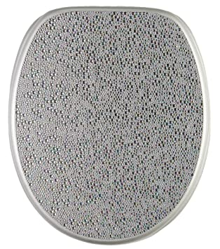 grey soft close toilet seat. Soft Close Toilet Seat  High Quality surface Stable Hinges Easy to mount