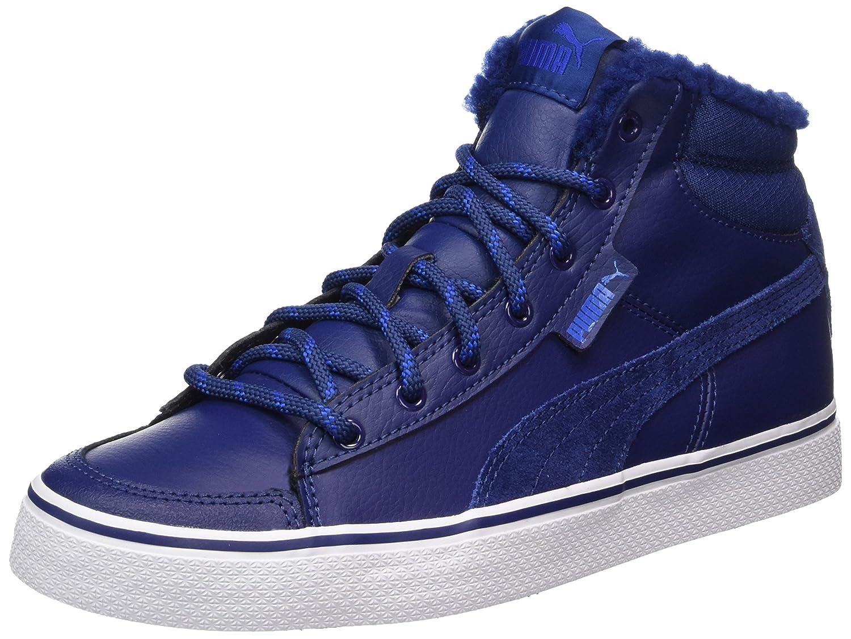 Puma Unisex-Erwachsene 1948 Mid Vulc Winter Hohe Sneaker  44.5 EU Blau (Blue Depths-lapis Blue)