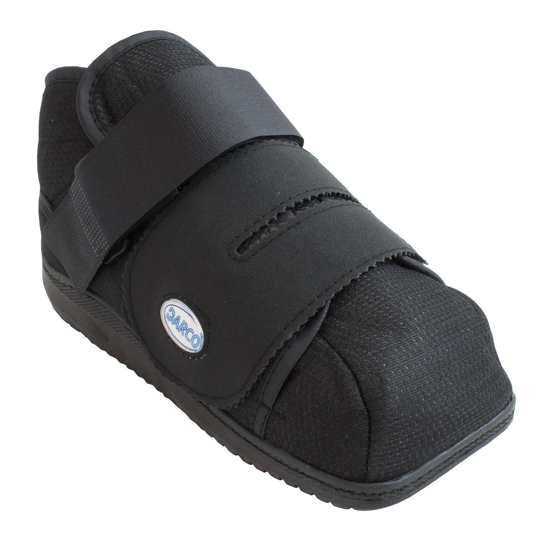 Closed toe medical walking shoe foot protection boot - Darco Apb Hi Boot Post Op Shoe 919 Large