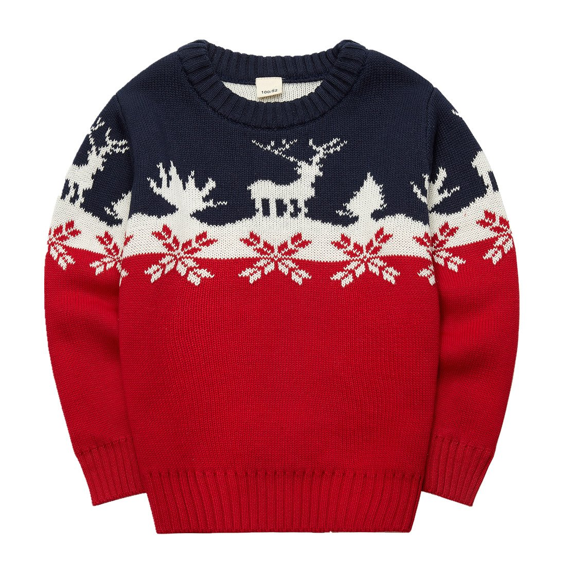 Sooxiwood Little Boys Sweater Pullover Chirstmas Top
