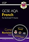 New GCSE French AQA Complete Revision & Practice (with CD & Online Edition) - Grade 9-1 Course (CGP GCSE French 9-1 Revision)