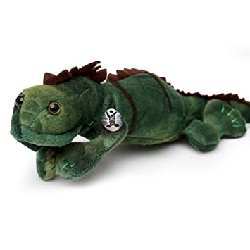Iguane vert Mandal 36 cm Peluche Iguane peluche de ...