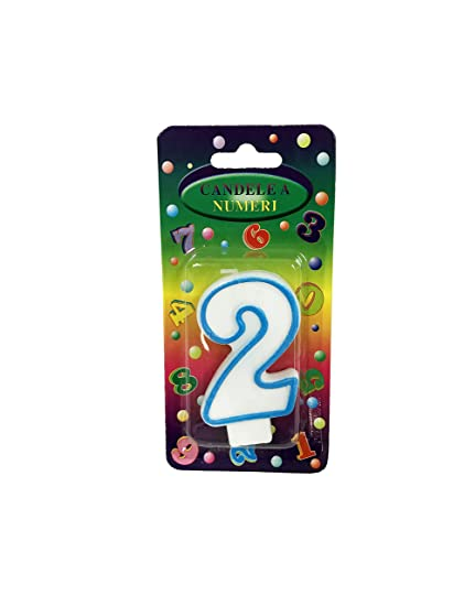 Numerical Birthday Candles Number Color And Question Mark Variations 25