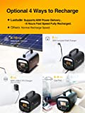 Luxtude Portable Power Station 250P, 243Wh Solar