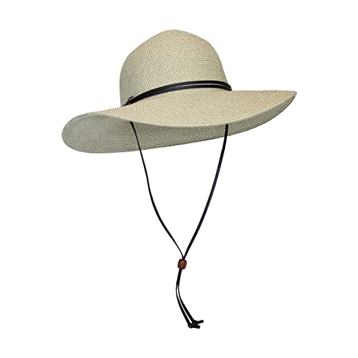 827d826c76c Beige Packable Cotton Fabric Sun Hat