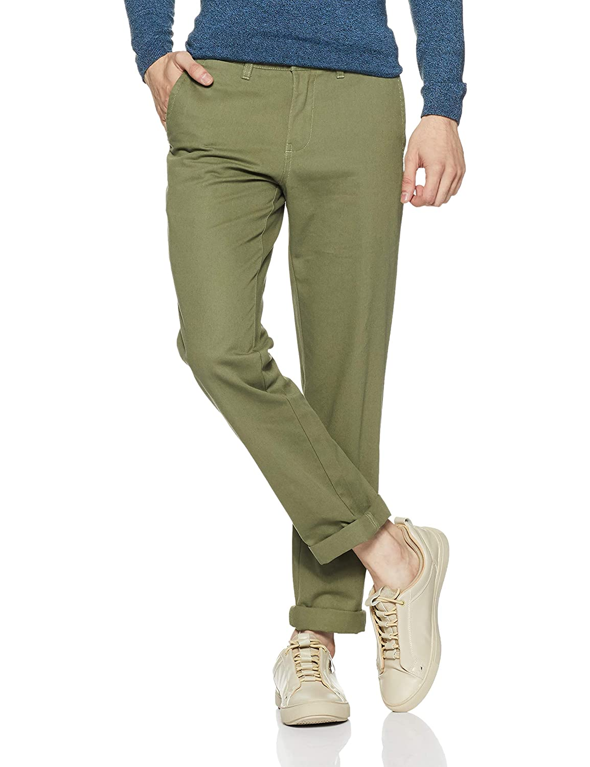 Symbol Amazon Brand Men's Slim Fit Chinos