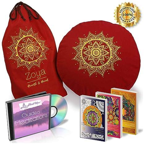 Amazon.com: Chakra - Cojín de meditación para yoga: Home ...