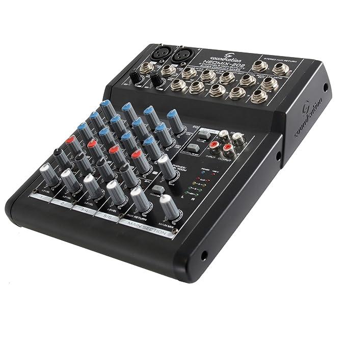 5 opinioni per SOUNDSATION NEOMIX 202- Mixer 4 Canali 8 Ingressi Per Home Studio, Live,