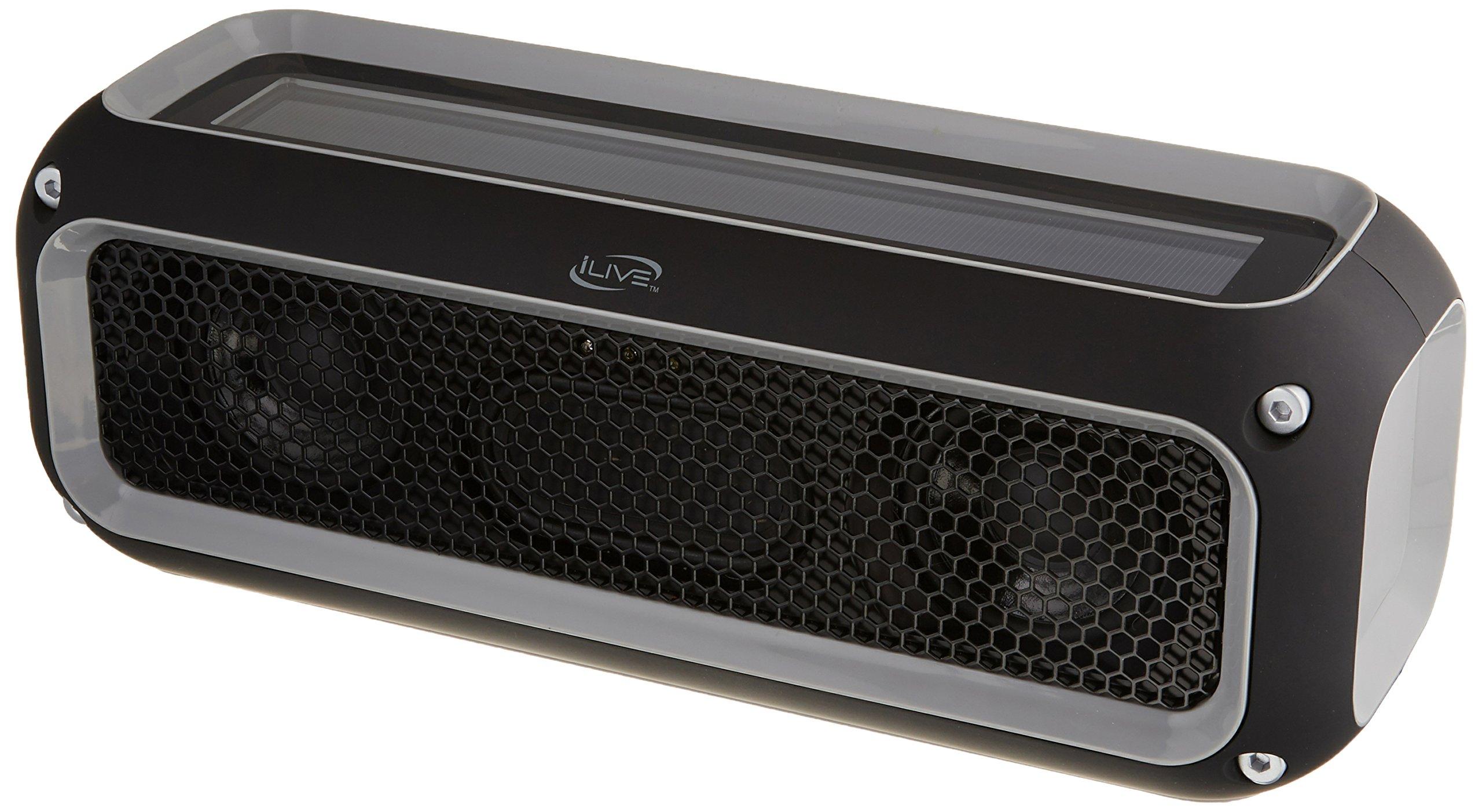 iLive ISBW405B Rugged Sport Bluetooth Speaker by iLive
