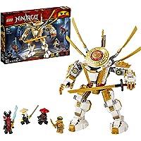 LEGO Ninjago 71702 Golden Mech Building Kit (489 Pieces)