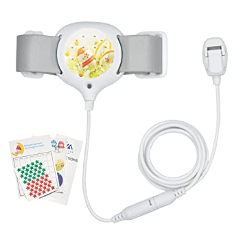 Bedwetting Alarm for Kids Girls & Boys - CUMIZON Potty Training Nocturnal Enuresis Alarm with Loud Sound and Strong Vibration for Deep Sleepers