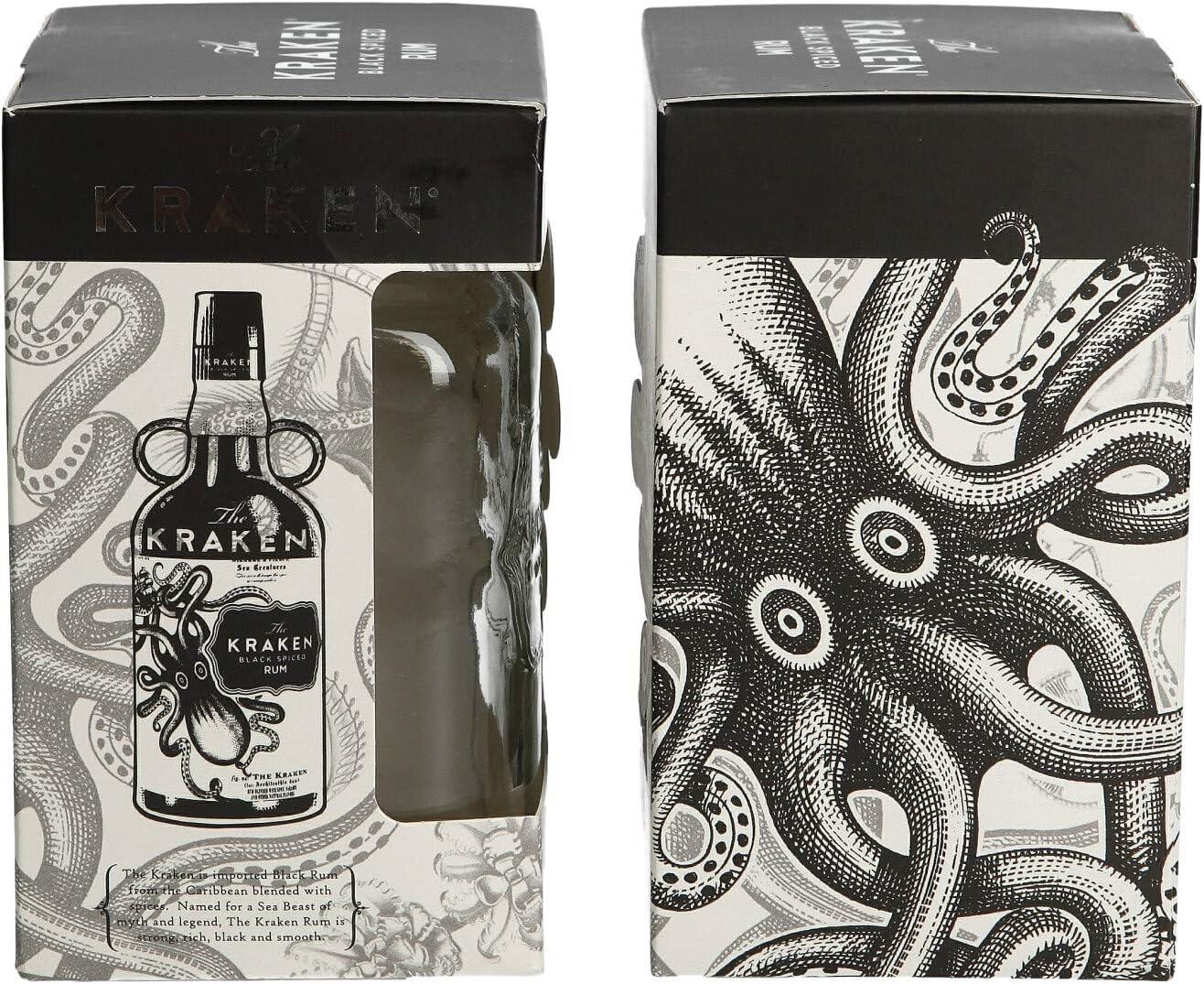 The KRAKEN edición limitada Rum Mason tarro de cristal