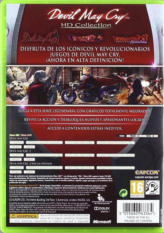 Devil May Cry - HD Collection: Amazon.es: Videojuegos