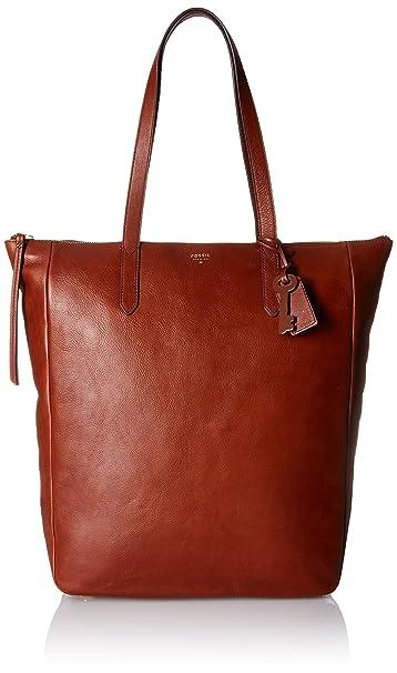 Amazon.com: Fossil Sydney trabajo bolsa Bag, Marrón, talla ...