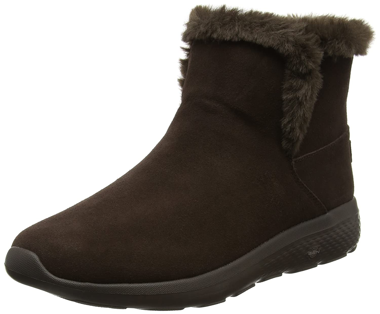 Skechers Damen on-The-Go City 2 Chukka Boots, Char  36.5 EU|Braun (Chocolate)