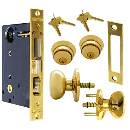 amazon com angal mortise gate lock 115 home improvement