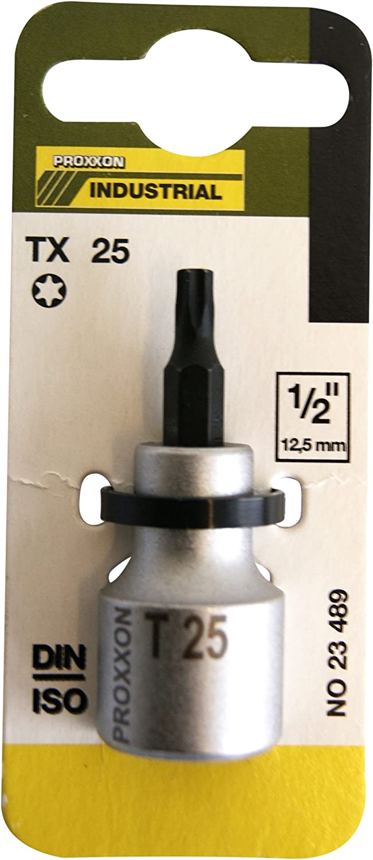 """55 MM Long 23491 Proxxon 1//2/"""" TX Insert T 30"""