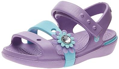 b0bdce4dc2a6 crocs Keeley Petal Charm PS Sandal (Toddler Little Kid Big Kid)