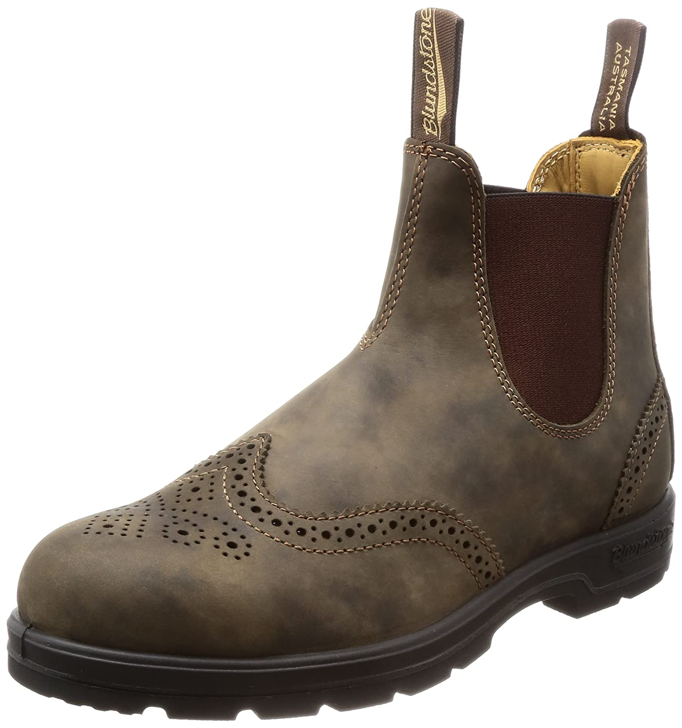 Blundstone Super 550 Series Boot B0713QF7GH 9.5 M AU/10.5 M US |Rustic Brown Brogue