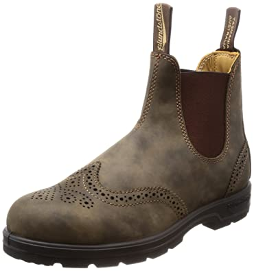 27e6d19ac15c Blundstone Unisex BL1471 Rustic Brown Brogue 3 M AU Medium