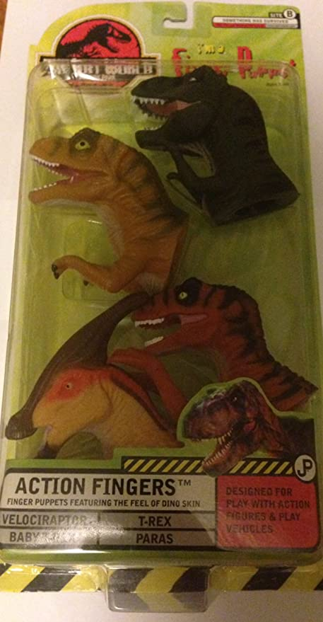 The Lost World Jurassic Park Action Fingers Finger Puppet 4