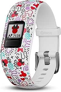 Garmin Vivofit Jr. 2, Kids Fitness/Activity Tracker, Disney Minnie Mouse