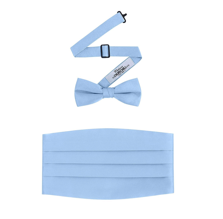 White Pleated Laydown Collar Tuxedo Shirt,/Cummerbund /& Bow Tie Set TUXWTELD